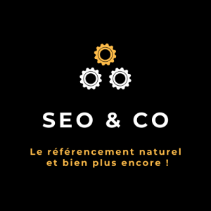 Logo SEO & CO noir