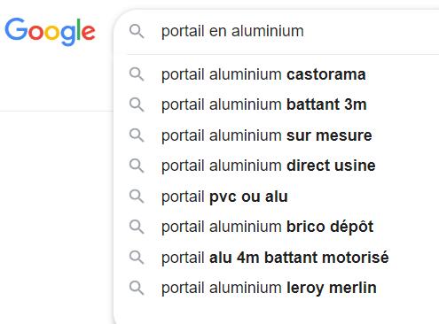 Outil autres questions de Google