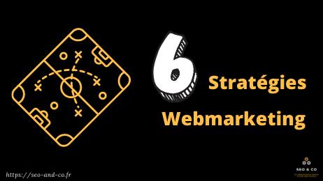 6 stratégies Webmarketing pour l'Industrie